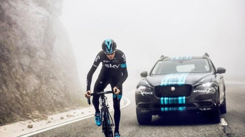 Jaguar F-Pace Team Sky - Chris Froome