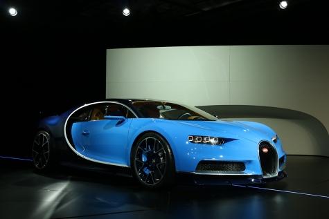Bugatti Chiron Salon de Genève 2016