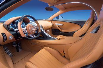 Bugatti Chiron intérieur