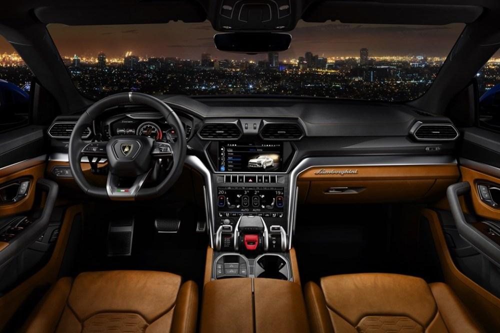 Intérieur Lamborghini Urus