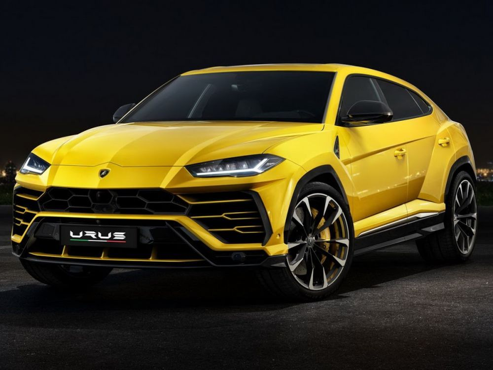 Lamborghini Urus Jaune