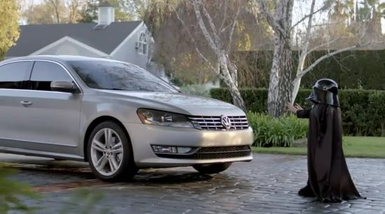 Passat Super Bowl - Dark Vador