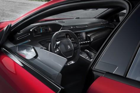 Peugeot 508 - Portes sans cadre