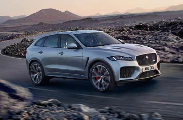 Jaguar F-Pace Vue latérale