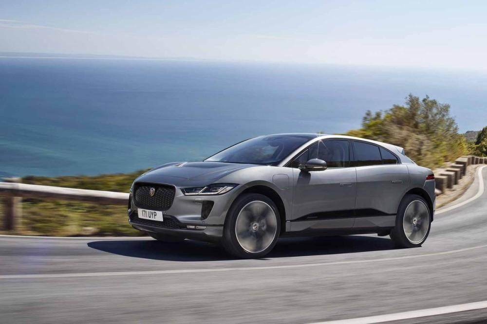 Jaguar I-Pace Face Avant